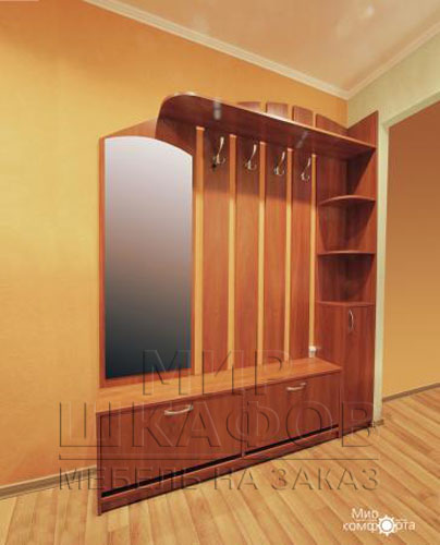 Прихожие шкафы купе фото. мебель на заказ от компании мир шк.