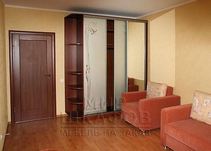 Дизайн комнаты шкаф купе